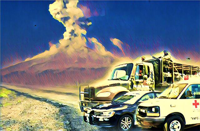 En riesgo, vecinos del Popo por malas rutas de evacuación