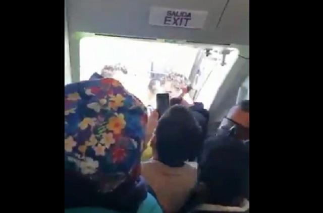 Vuelan de Cancún a Puebla, los llevan Morelia y ahí los quieren dejar