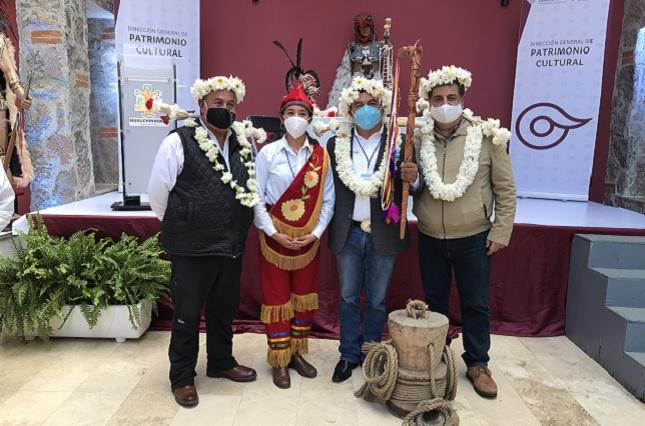 Participan 12 grupos en encuentro sobre Ritual de Voladores en Puebla