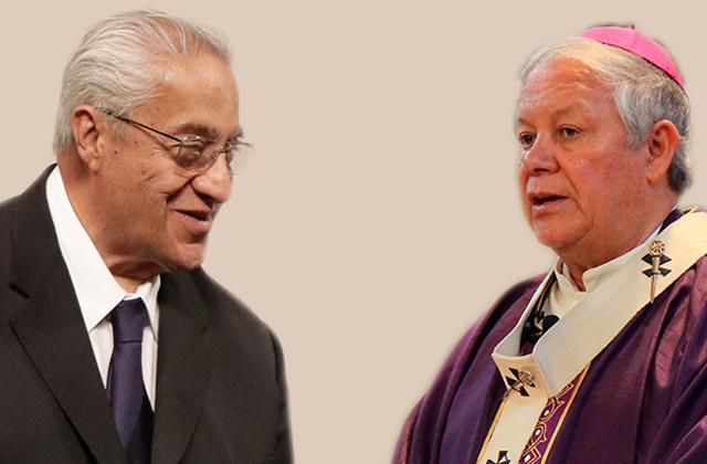 Gobernador y arzobispo acuerdan acciones de prevención en el volcán