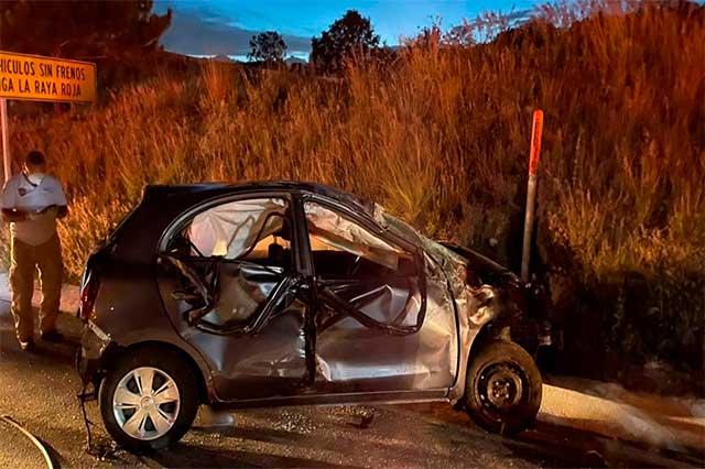 Mueren bebé y dos mujeres en accidente en la Amozoc-Perote