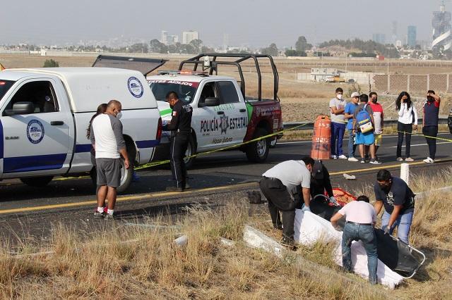 Exigen castigo para responsable de accidente en Vía Atlixcáyotl