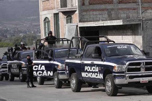 Volcadura de patrulla en Michoacán deja un saldo 8 policías muertos