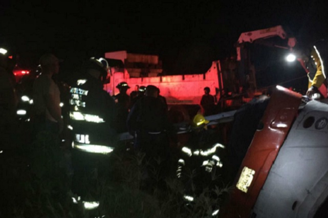 Volcadura de camión en Tlaquepaque deja un saldo de 7 muertos