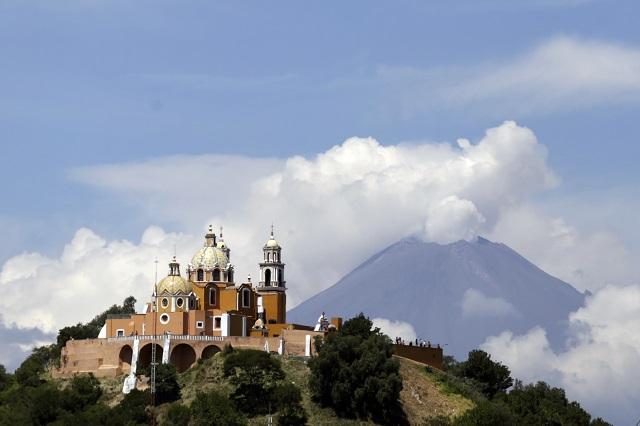En Atlixco y Cholula pudieron sentir tren de sismos generado en el volcán