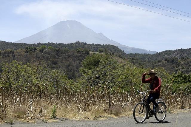 El Popocatépetl registra ligera actividad en las últimas horas