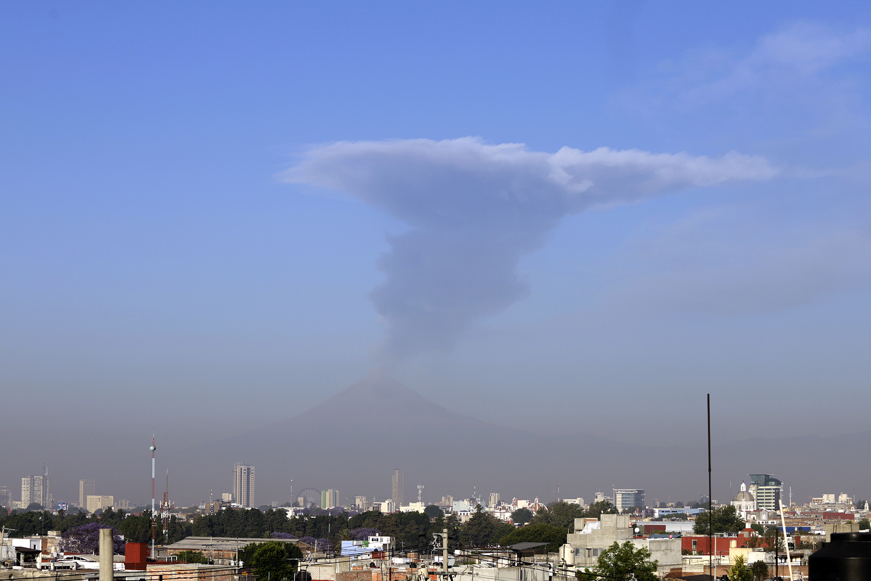 Actividad reciente del volcán está Prevista, asegura Protección Civil