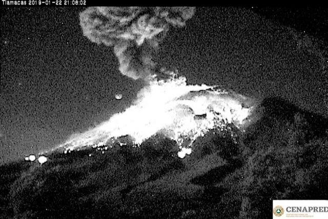 Explosión del Popocatépetl no indicaría mayor actividad
