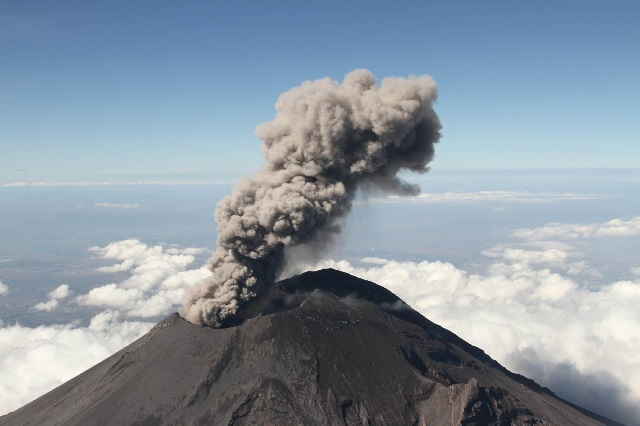 El volcán Popocatépetl tiene un semestre de baja actividad: UNAM