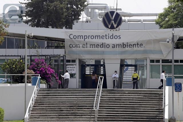 Se prolonga paro técnico en Volkswagen hasta octubre 15