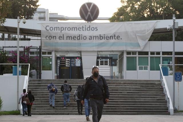 VW y sindicato confirman a gobierno operación al 30%