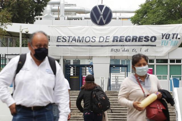 Reconoce VW muerte de dos trabajadores por Covid-19