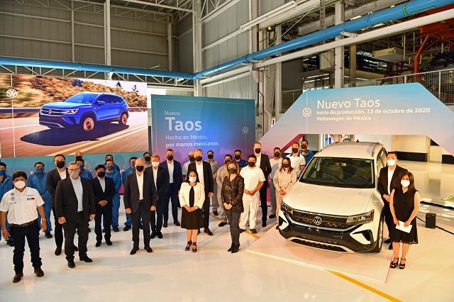 Analizan paro de labores en VW ante repunte del Covid