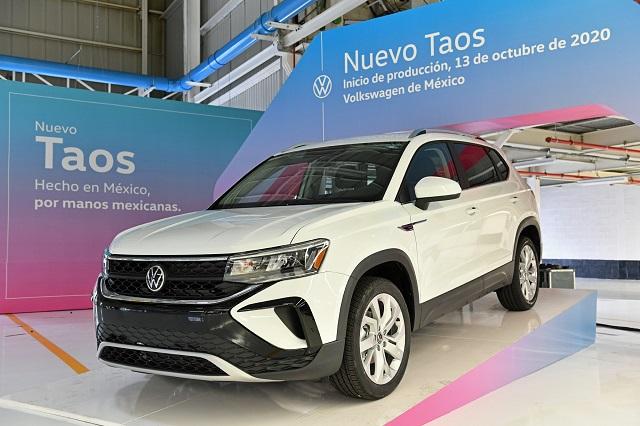 Volkswagen ha vendido 1 de cada 6 Taos hechas en Puebla
