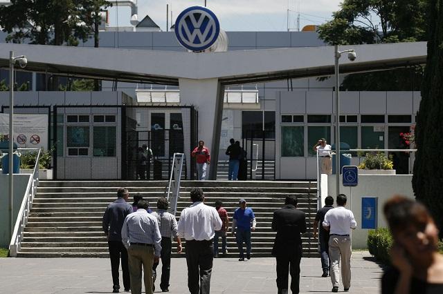 Drástica caída de exportaciones reportó VW en septiembre
