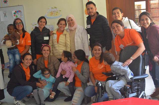 Alumnos Anáhuac realizan actividades de voluntariado en Marruecos