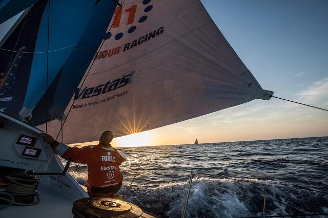 Los 7 veleros cruzan el Cabo de Hornos