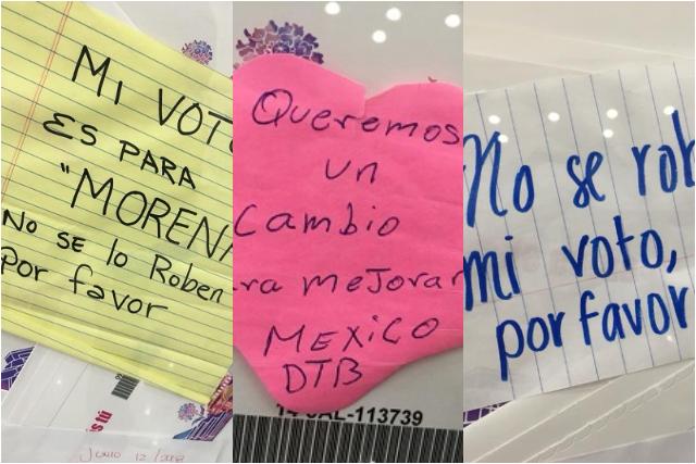 """""""Por favor, no roben mi voto"""" mensajes al INE desde el extranjero"""