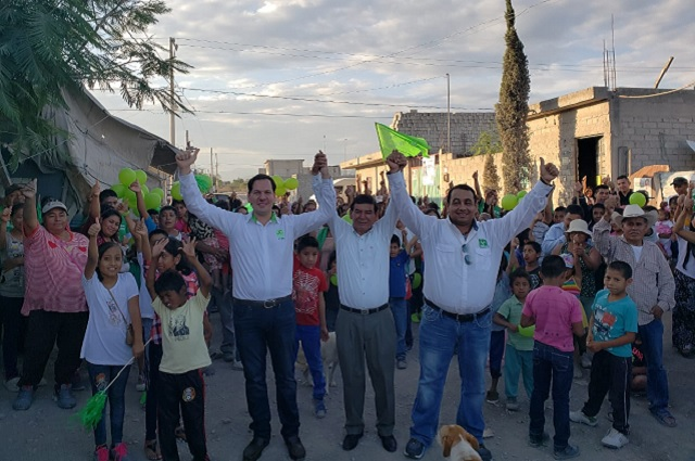 Juan Pablo Kuri y Pedro Tepole impulsan el voto Verde