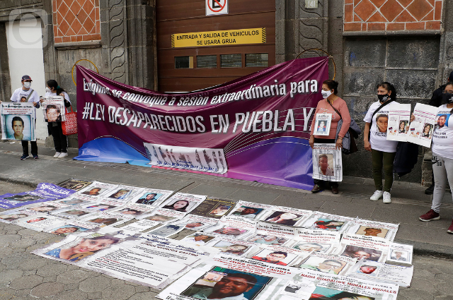 Revela Barbosa iniciativa suya para ley de desaparecidos