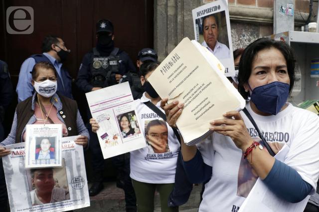 Abren 3 carpetas de investigación diarias por casos de desaparecidos