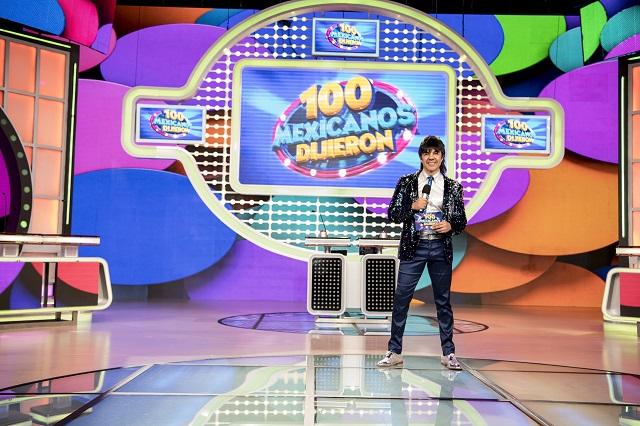 Regresa 100 Mexicanos Dijieron a la tv con estos invitados