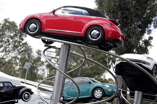 VW Beetle producido en Puebla establece récord de velocidad