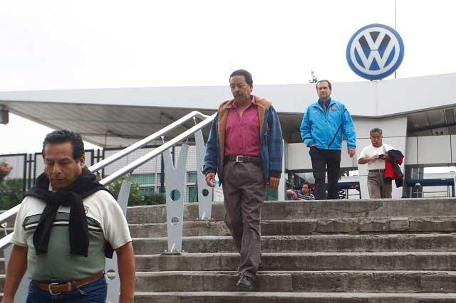 Sindicato VW demandará 12% de aumento salarial, informa líder