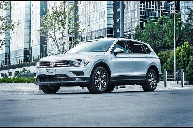 Tiguan VW, el auto que más fabricó México durante 2019