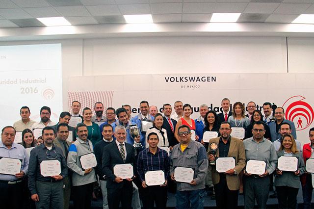 VW reconoce desempeño en prevención de riesgos de trabajo