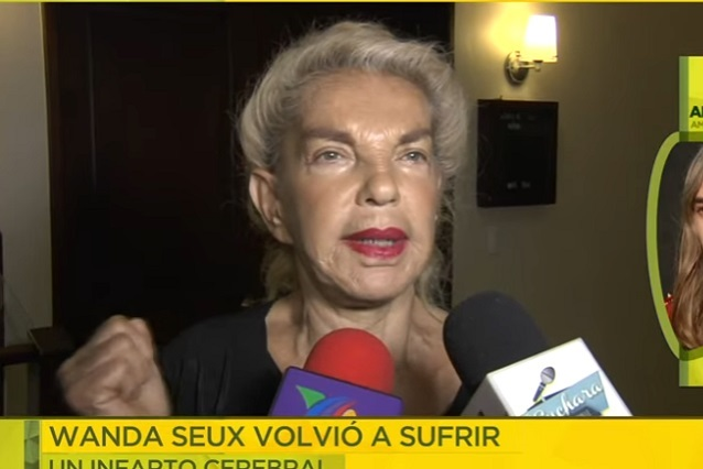 Wanda Seux sufrió infarto cerebral y perdió el habla