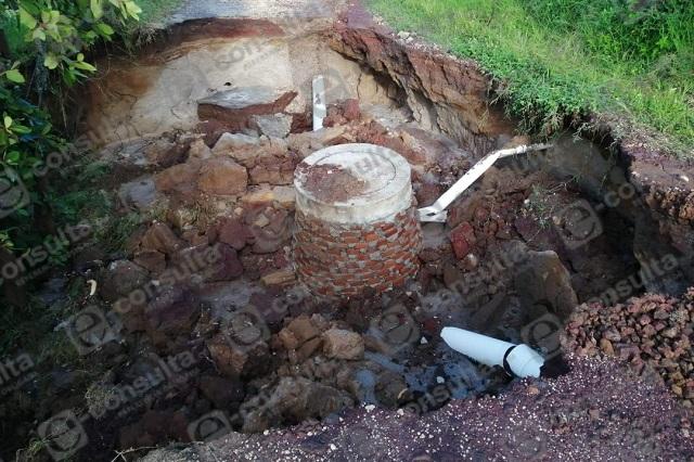 Intensas lluvias causan daños en Zacapoaxtla y Tlatlauquitepec