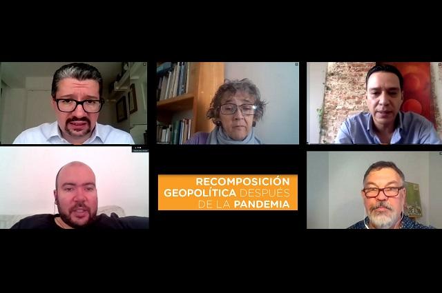 Covid-19 afectará recomposición geopolítica global: expertos