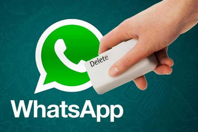 WhatsApp te da 7 minutos para borrar mensajes: checa cómo hacerlo