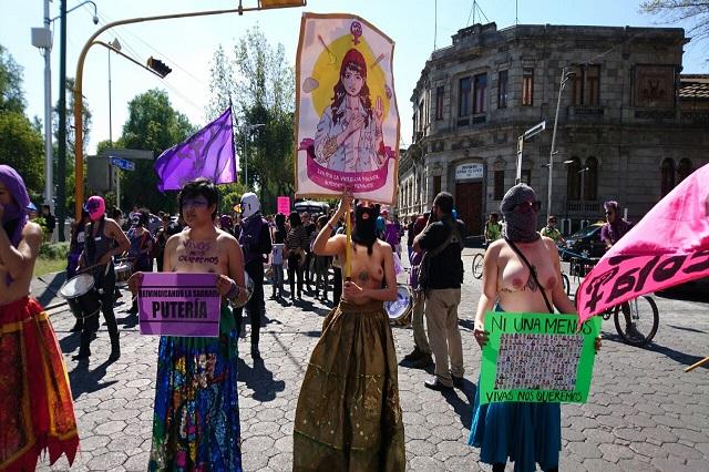 Derechos de las mujeres, fuera de la agenda  de RMV, denuncian