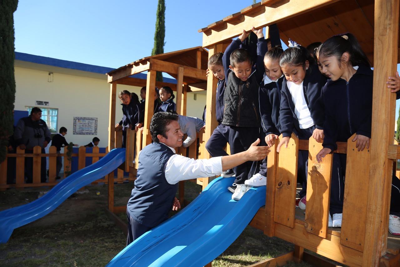 Más de 26 mil alumnos regresan a clases en San Andrés Cholula