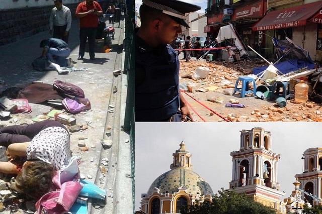 Sismo de 7.1 grados deja caos, terror y muerte en Puebla