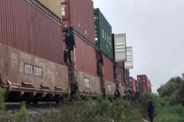 Saquean al tren en Cañada Morelos y se roban electrodomésticos