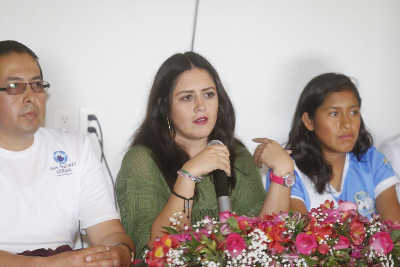 Melissa Núñez ya dirige selección femenil de San Andrés Cholula