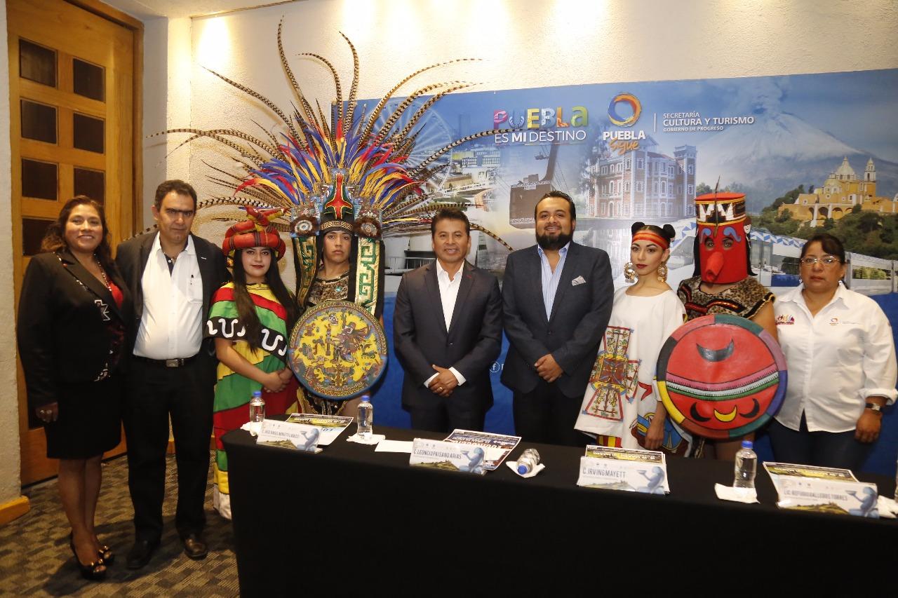 Presentan 5°Festival Equinoccio en San Andrés Cholula