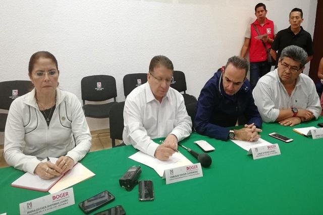 Solicitará PRI seguridad para sus candidatos en  Puebla