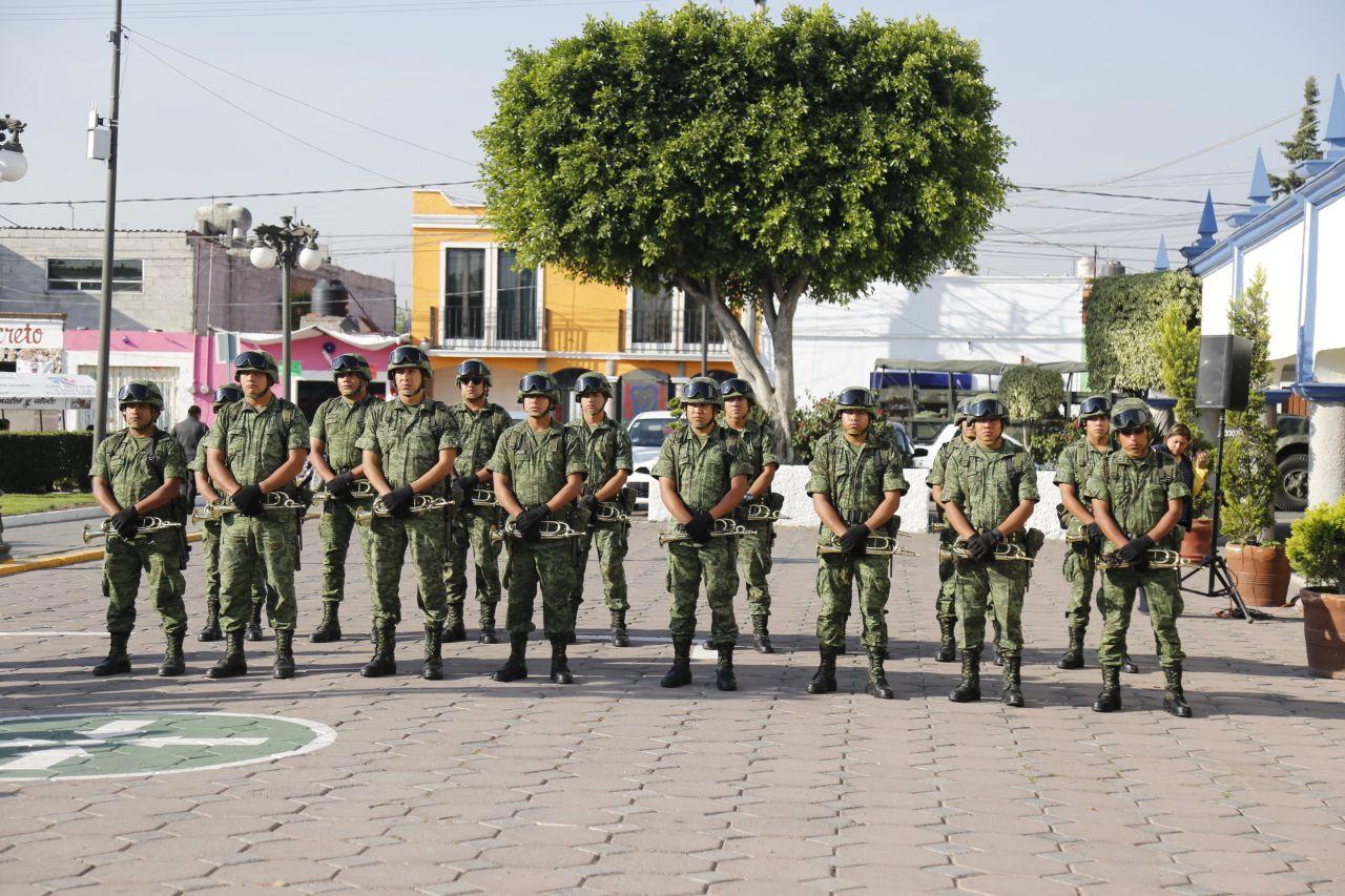 Inician abril en San Andrés Cholula con Ceremonia Cívica