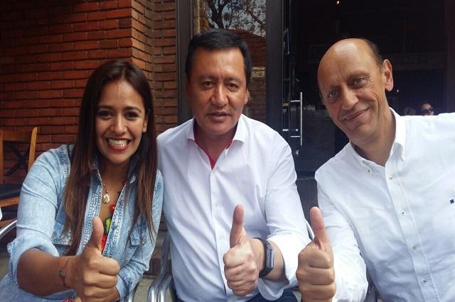 Ganaremos a los traidores al PRI en Puebla, asegura Osorio Chong