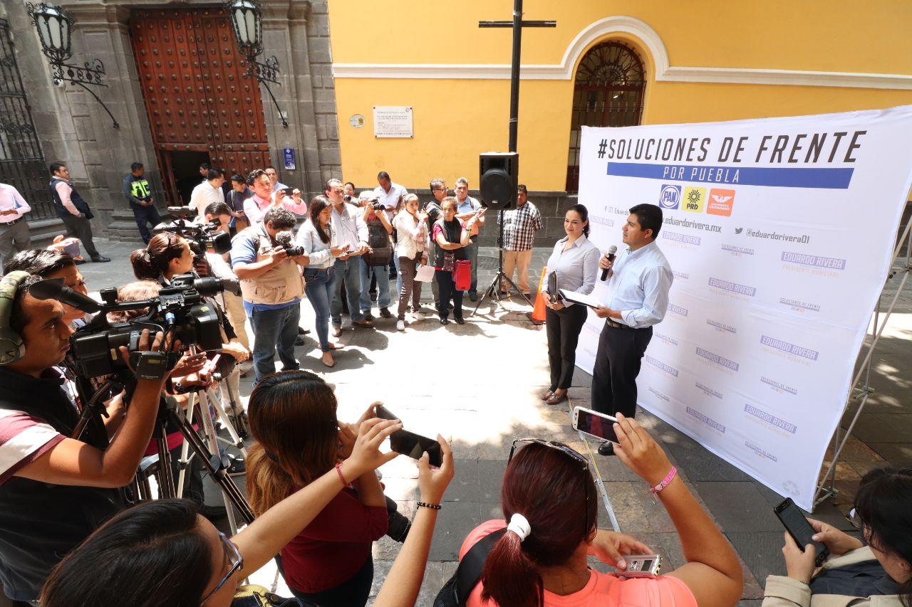 Dice Rivera Pérez que en su gobierno la seguridad será prioritaria