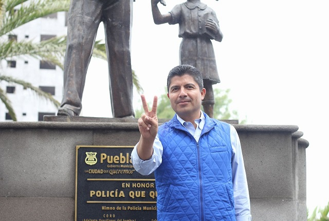 Eduardo Rivera presenta la APP de la Ciudad