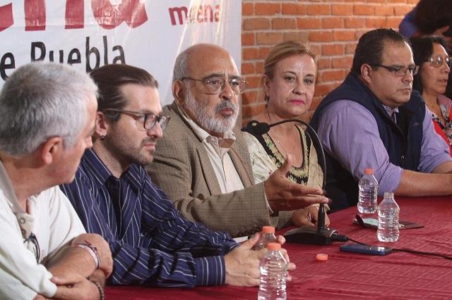 Exige Morena al gobernador Gali suspender proceso de transición