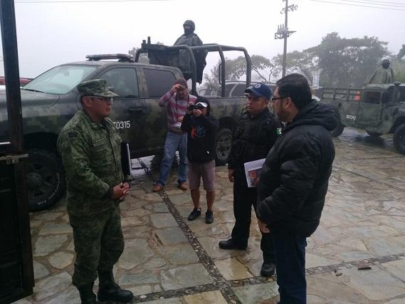 Llega la Guardia Civil a Cuetzalan; recorrerá focos rojos: alcalde