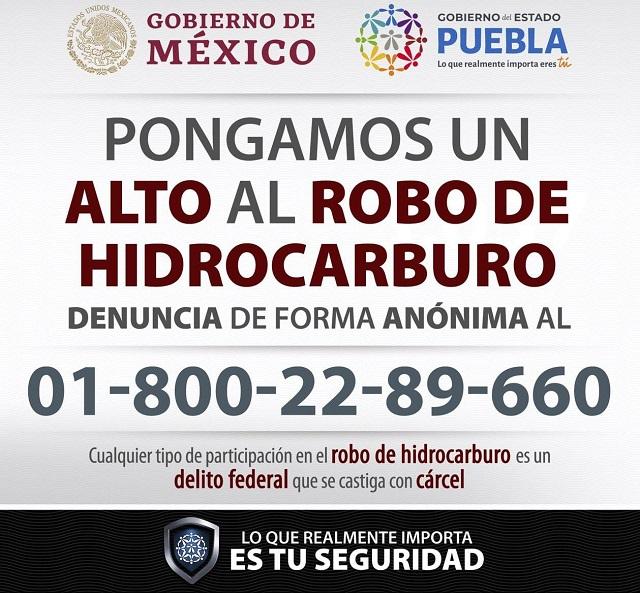 Puebla se suma al plan de vigilancia a instalaciones de Pemex