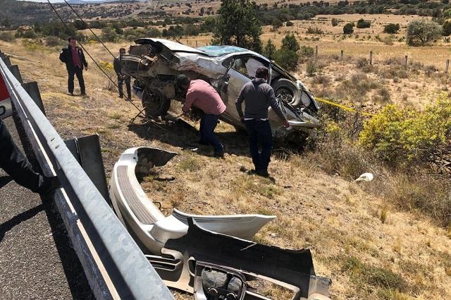 Ya son dos muertos por accidente del edil auxiliar de Zacatlán