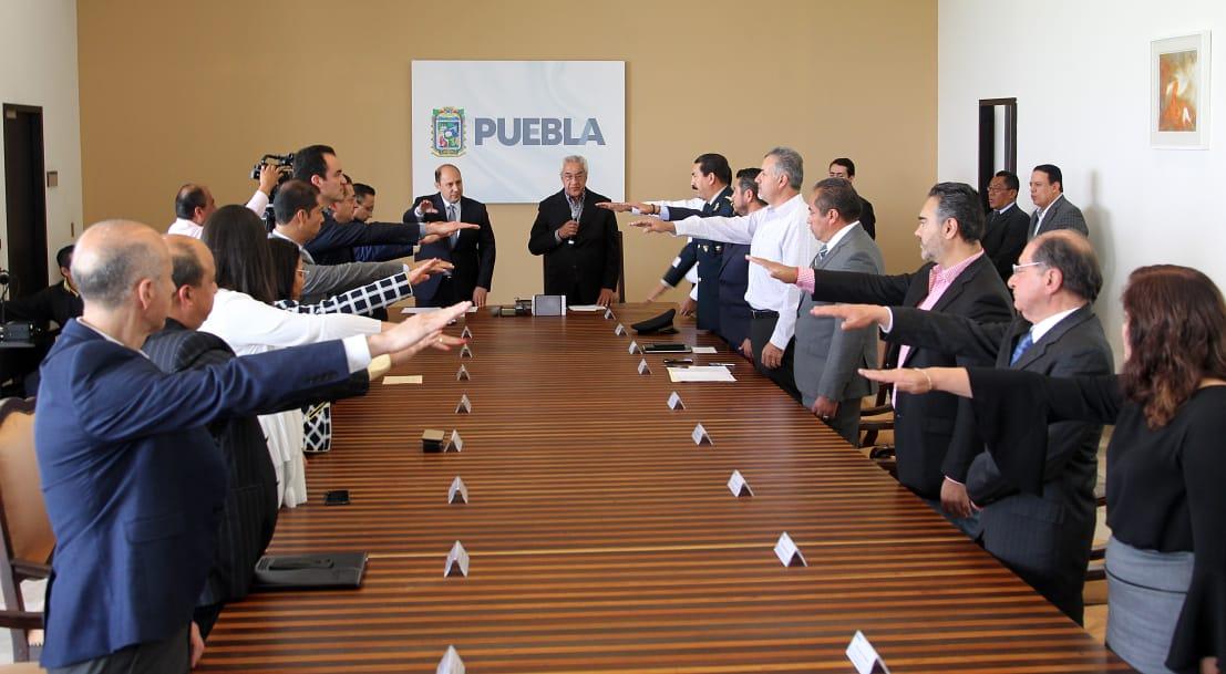Instala gobierno Consejo Estatal de Protección Civil